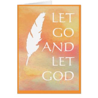 Let Go and Let God Cards