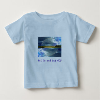 Let Go and Let GOD infant shirt long