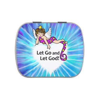 Let Go and Let God Jelly Belly Candy Tins