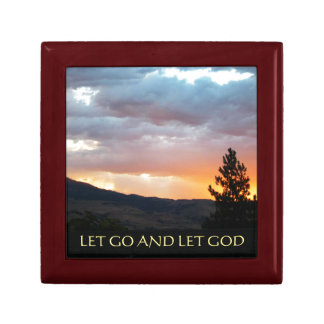 Let Go and Let God July Sky Gift Box