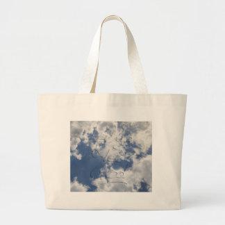 Let Go and Let God Large Tote Bag