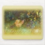 Let Go and Let God - Leaf 2 Mouse Pad