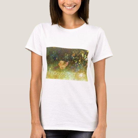 Let Go and Let God - Leaf T-Shirt