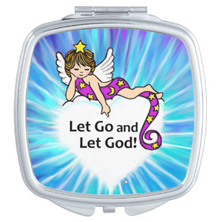 Let Go and Let God Makeup Mirror