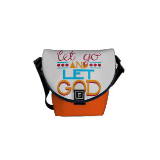 Let Go and Let GOD Courier Bags