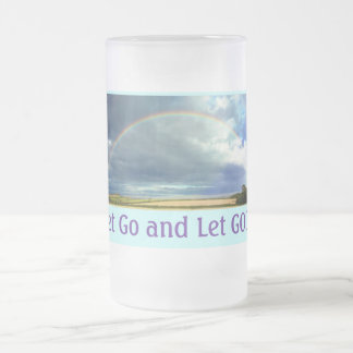 Let Go and Let GOD mug