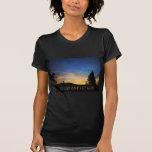 Let Go and Let God Orange Blue Sunrise Tshirts