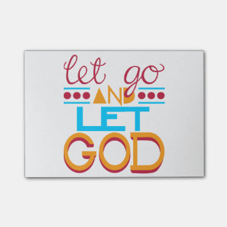 Let Go and Let GOD Post-it® Notes