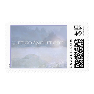 Let Go and Let God Postage