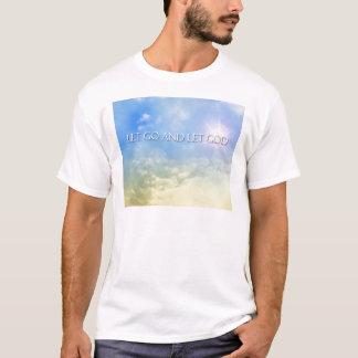 Let Go and Let God - Sky T-Shirt