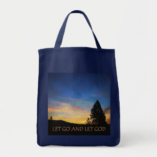 Let Go and Let God Sunrise Bag