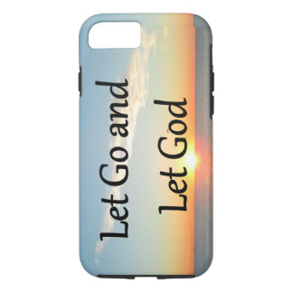 LET GO AND LET GOD SUNRISE PHOTO iPhone 8/7 CASE