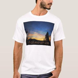 Let Go and Let God Sunrise T-Shirt