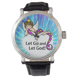 Let Go and Let God Wristwatches