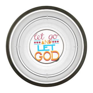 Let Go and Let GOD Pet Bowl