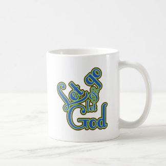 Let Go Classic White Coffee Mug