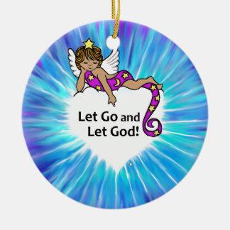 Let Go Ethnic Angel Christmas Ornament