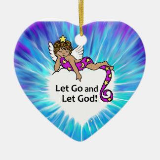 Let Go Ethnic Angel Ornament