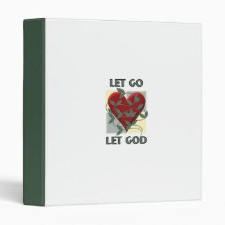 Let Go Let God Binder