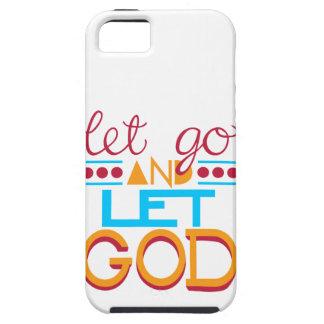 Let Go & let GOD iPhone 5 Case