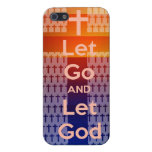 let Go let God iphone Cover For iPhone 5/5S