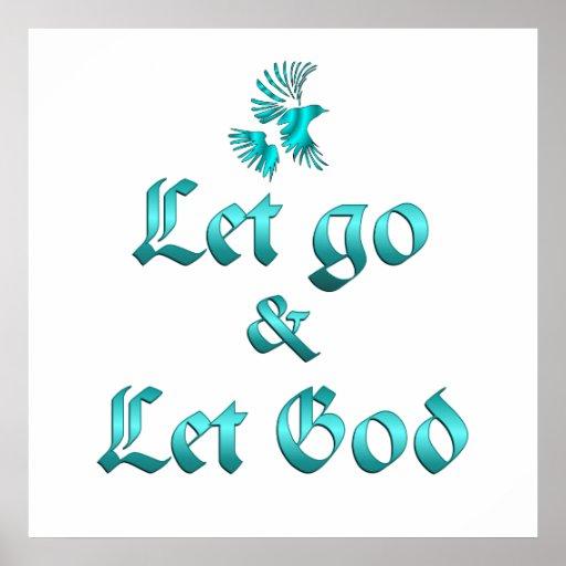 Let Go Let God Print