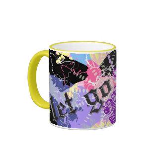 Let go ~ ringer coffee mug