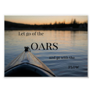 Let Go Nature Inspired Poster at Zazzle