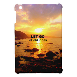 Let Go of Old Ideas iPad Mini Covers