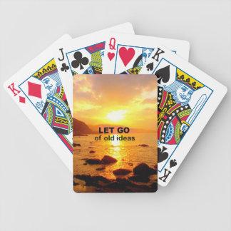 Let Go of Old Ideas Card Decks