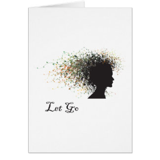 Let Go Yoga Gift Greeting Card