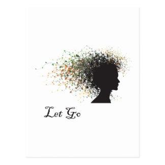 Let Go Yoga Gift Postcard