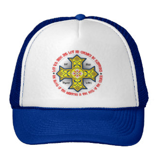 Let God arise and let His enemies be scattered Trucker Hat