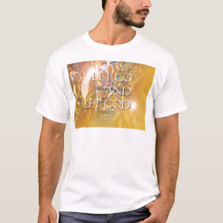 LET GOD Golden Leaves T-Shirt