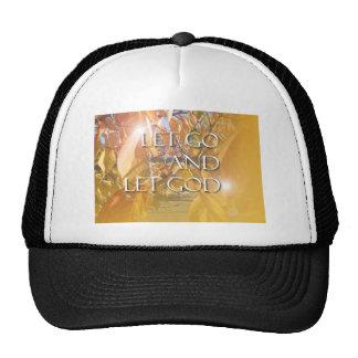 LET GOD Golden Leaves Trucker Hat