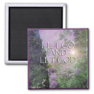 Let God Lilacs & Tree 2 Magnet