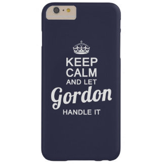 Let Gordon handle it Barely There iPhone 6 Plus Case