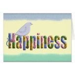 Let Happiness Find You Greeting Card