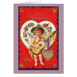 Let Hearts and Thoughts Entwine Greeting Card
