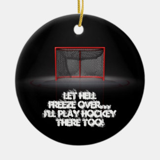 LET HELL FREEZE OVER CHRISTMAS ORNAMENT