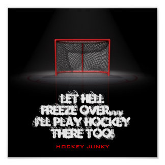 LET HELL FREEZE OVER POSTER
