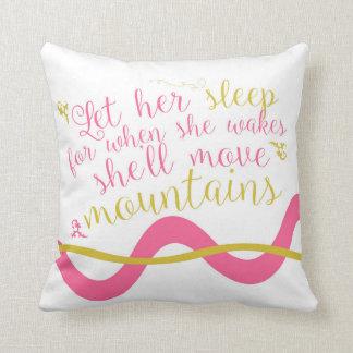 Let Her Sleep Pillow