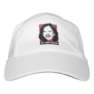Let her Speak - Kamala Harris - Headsweats Hat