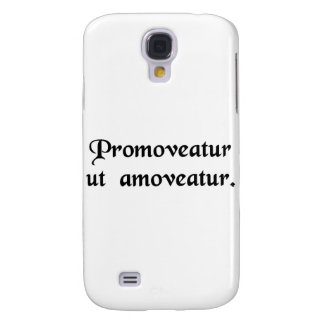 Let him be promoted to get him out of the way. samsung galaxy s4 cover