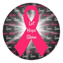 Let Hope & Love Shine Sticker