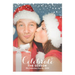 LET IS SNOW   HOLIDAY PHOTO CARD