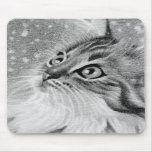 Let is snow  Kitty Cat Mouse Pads