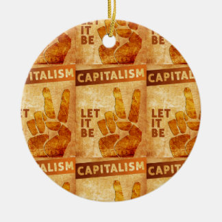 Let It Be Ceramic Ornament