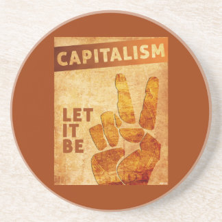 Let It Be Drink Coaster