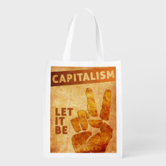 Let It Be Grocery Bag